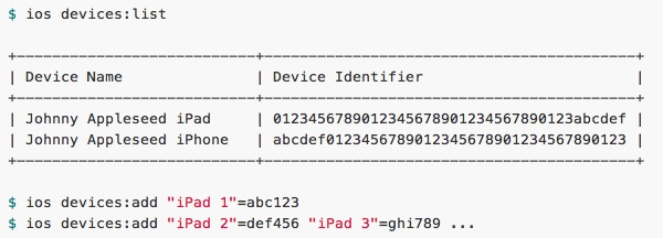 Manage iOS Devices and Provisioning from the Command Line with Cupertino