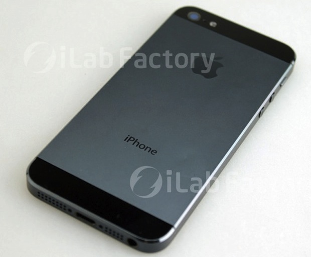 Alleged iPhone 5 picture, showing back of the device