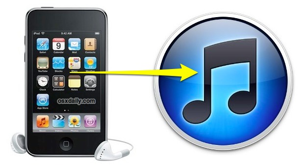 Transfer playlist from iOS to iTunes
