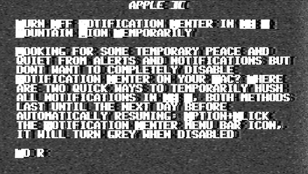 Apple 2 Simulator on iPad