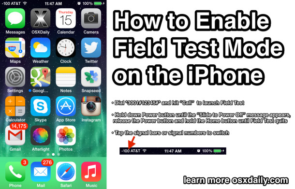 How to Enable Field Test Mode on an iPhone