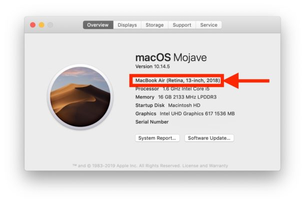 Find Out When a Mac Was Made