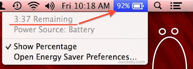 Mountain Lion battery life
