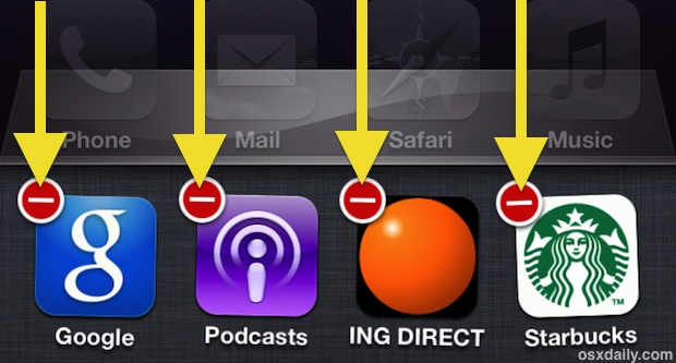 Quit Multiple Apps at Once in iOS with Multitouch