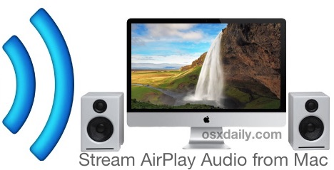 Stream AirPlay audio from a Mac