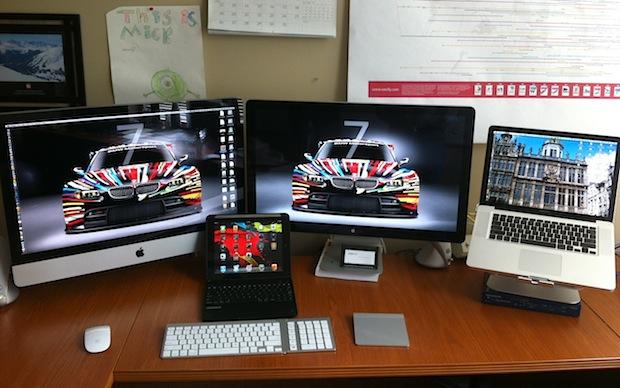 Sweet Mac setup of a Director of Software Platforms