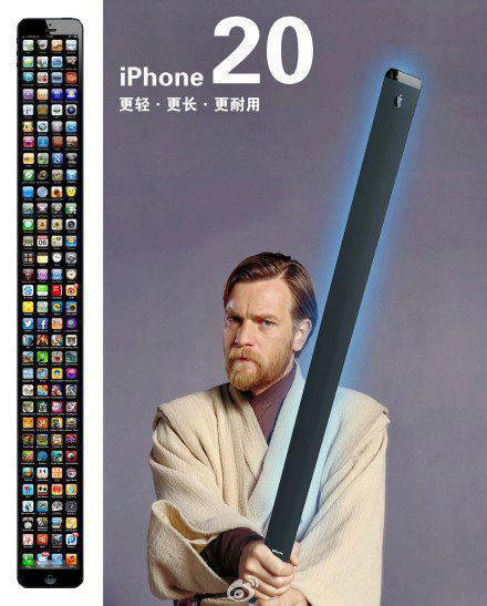 Obi Wan Kenobi iPhone 20 lightsaber