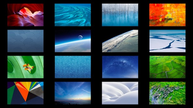 Full screen slide show with contact sheet in Mac OS X