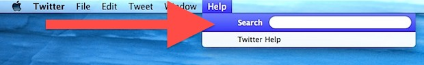 Help Menu keyboard shortcut in Mac OS X