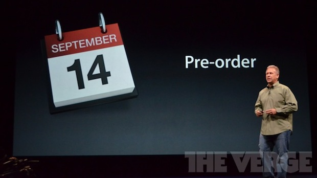 iPhone 5 pre order and release dates