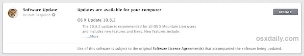 OS  X Mountain Lion 10.8.2
