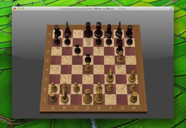 Play Chess online against friends or random opponents in Mac OS X