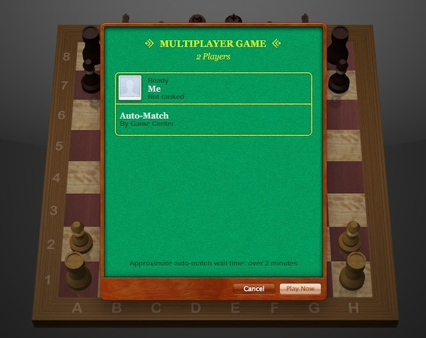 Play Chess against a random player online