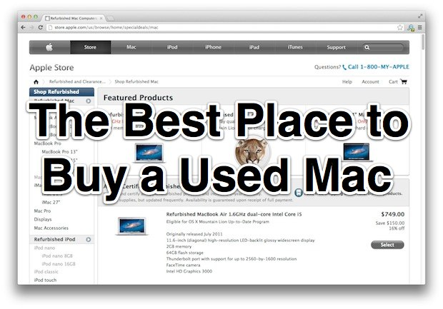 The Best Place to Buy a Used Mac