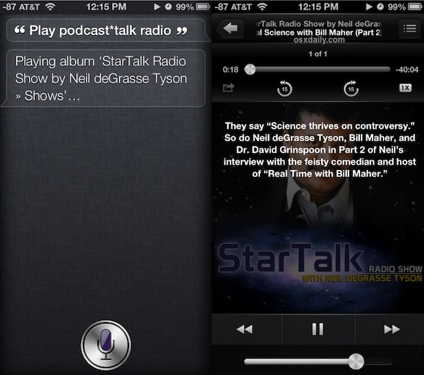 Listen to Podcasts in the Music app of iOS
