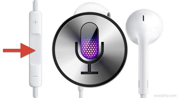 Launch Siri with nothing but your classic white Earbuds