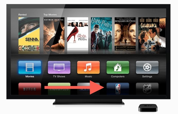 Rearrange Apple TV Home Screen Icons