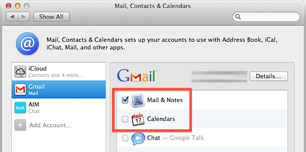 Set up Gmail to sync from Mac to Android