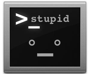 Stupid Terminal tricks