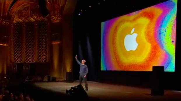 Tim Cook at the iPad Mini event