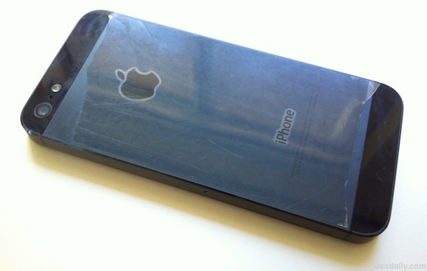 Ugliest scratch protection for iPhone 5 ever?