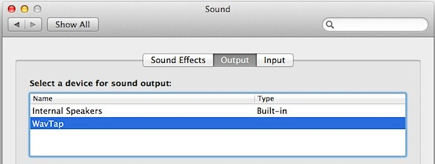 Capture mac audio and record output with Wavtap