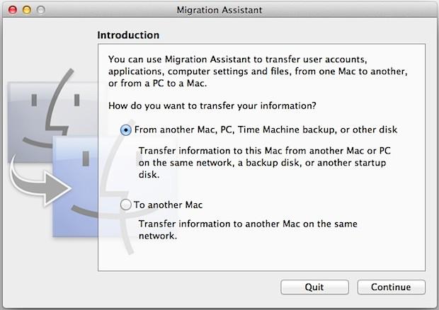 Migration Assistant