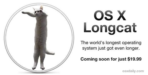 OS X 10.9 Longcat