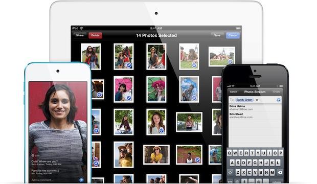 Shared Photo Streams in iOS