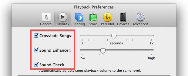 Improve listening to music with iTunes