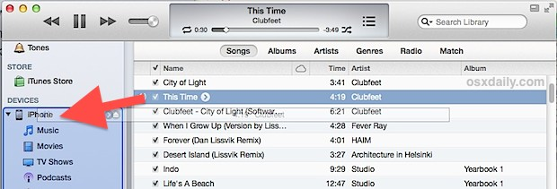 how to add songs to iphone add to iphone or ipod wirelessly without syncing itunes 5556