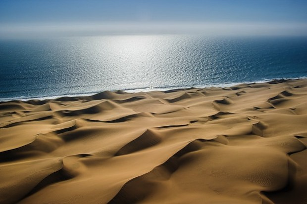 sand dunes to the sea wallpaper
