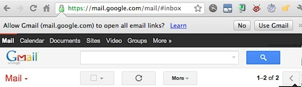 Gmail as your default email client
