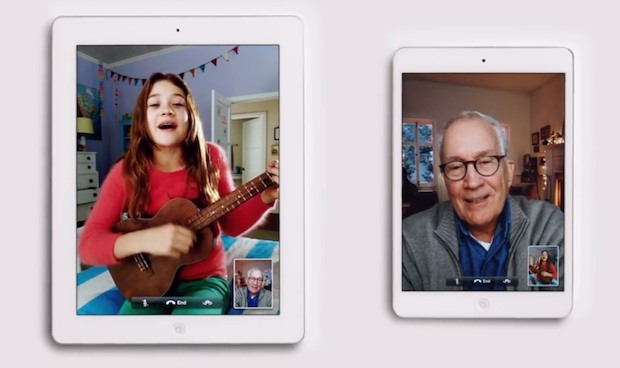 iPad Christmas Commercial for 2012