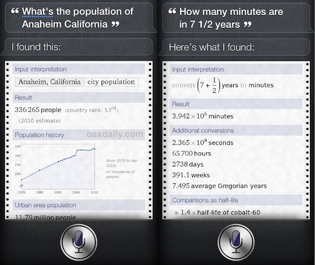 Ask Siri tough questions