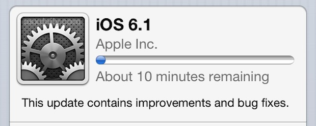 iOS 6.1 Download