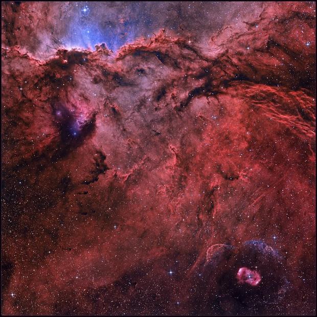 NGC 6188 and NGC 6164