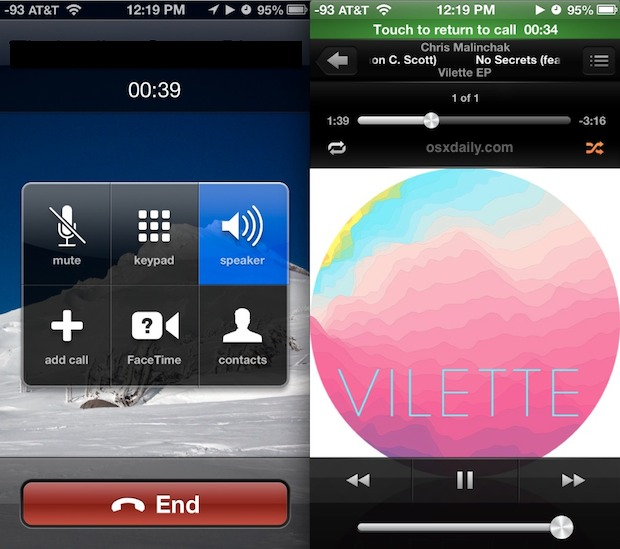 Play music on phone calls with iPhone