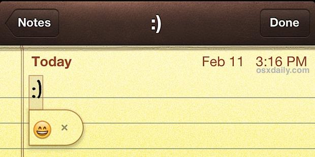 Emoticon to Emoji replacement