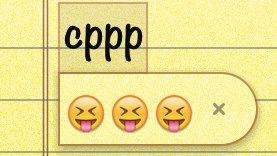 Fastest way to type Emoji