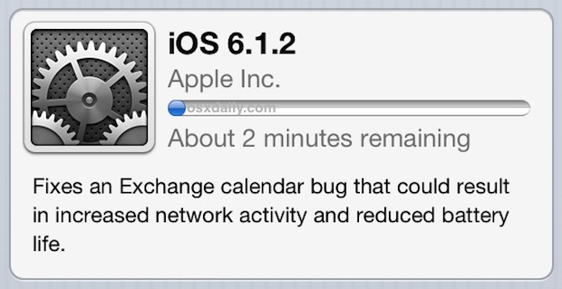 iOS 6.1.2 OTA Download