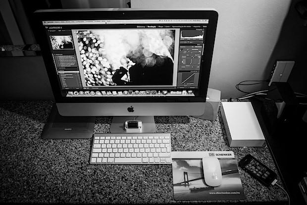 Photographers iMac setup
