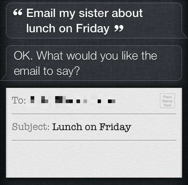 Use Relationship commands with Siri