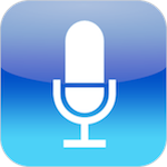 Voice Memos icon for iPhone