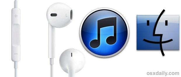 Control iTunes in Mac OS X from Apple earphones