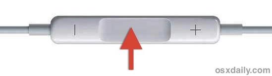 Earphone controls for the Mac