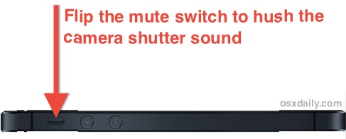 turn off camera sound iphone turn the iphone shutter sound effect to take 18100