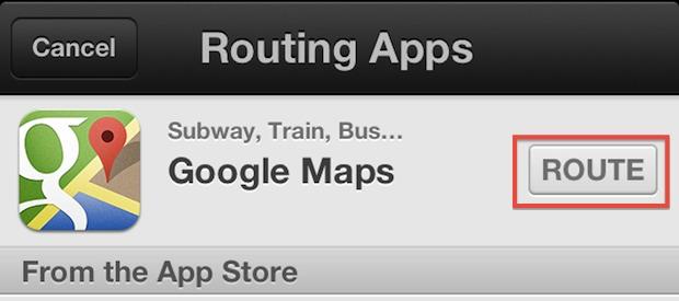 Route Maps through Google