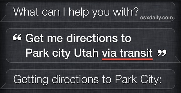 Asking Siri for directions from Google Maps instead of Apple Maps