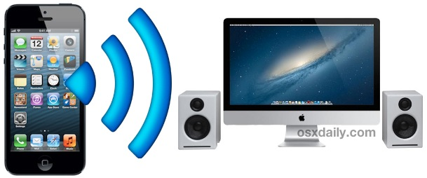 Stream audio from iPhone, iPad, or iPod touch to an AirPlay Receiver